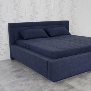 Tagesdecke, Westfalia Schlafkomfort, blau, 230 cm x 220 cm