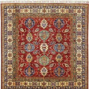 Orientteppich Super Kazak 191x182 Handgeknüpfter Teppich