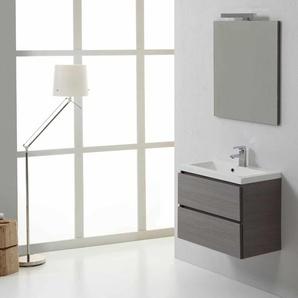 MANHATTAN Badezimmermöbel 60 cm mit Schubläden - KIAMAMI VALENTINA
