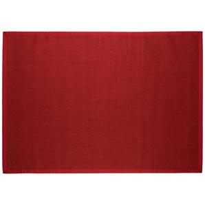 Sisal-Teppich  Manaus ¦ rot ¦ 100 % Sisal, Sisal ¦ Maße (cm): B: 80 Teppiche  Wohnteppiche » Höffner