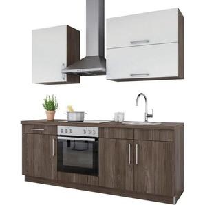set one by Musterring Küchenzeile »Navaro« ohne E-Geräte, Breite 210 cm