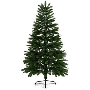 OneConcept Rothenburg • künstlicher Weihnachtsbaum • Christbaum • Tannenbaum • natürliches Aussehen • dichtes Nadelkleid • über 600 Zweige • 1,8 m hoch • PE-Spritzguss • grün