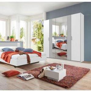 Schlafzimmer Kairo weiß/Abs.light grey