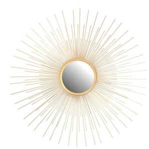 Sonnenspiegel, D:75cm x H:1,5cm, gold