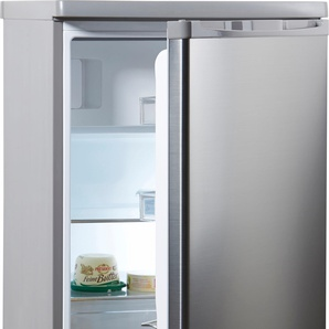 Kühlschrank HKS 8555GA2S, silber, Energieeffizienzklasse: A++, Hanseatic
