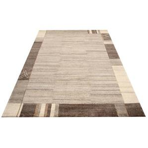 Moderner Teppich NATURAL LIVING Ø 200 cm rund in Beige/Neutral