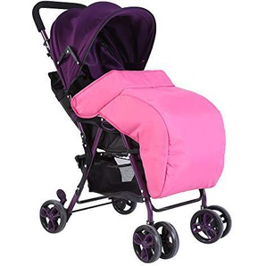 Neugeborene Baby Universal Fußsack Kinderwagen Kinderwagen Snuggle Abdeckung Winddicht Wasserdicht rose