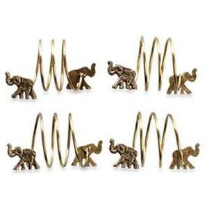 Serviettenring-Set Elefant Schlange