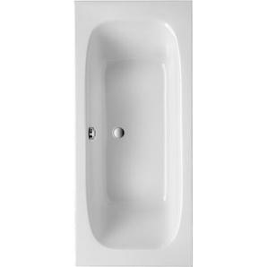 Ottofond Körperform-Badewanne Malta 180 cm Weiß
