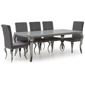Essgruppe Bowermans mit 6 Stühlen