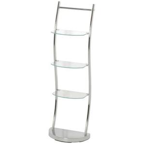 Standregal mit Glasböden