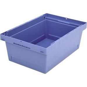 BITO-Lagertechnik Mehrwegbehälter MB ohne Zubehör/Gefahrgut / MB 64221 600x400x223 taubenblau