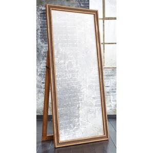 Stand-/Wandspiegel KHAN 80 x 180 x 5 cm Braun