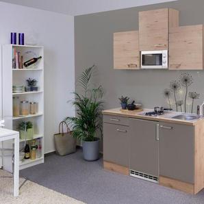 Küchenzeile mit E-Geräten »Riva«, Gesamtbreite 150 cm