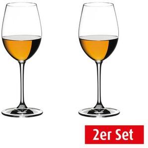 RIEDEL Weißweinglas / Weinglas im 2er Set für je 350 ml VINUM Sauvignon/Dessertwine