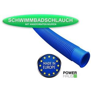 POWERHAUS24® - Pool Schlauch für Schwimmbad und Teich - Ø 32mm (5/4) - Länge: 4,40m