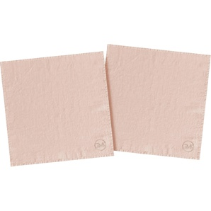 Stoffserviette »stone washed«, rosa, 40x40cm, Öko-Tex-Zertifikat, , , Guido Maria Kretschmer Home&Living