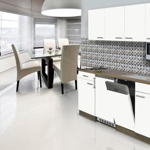 RESPEKTA Küchenzeile mit E-Geräten »York«, Breite 195 cm