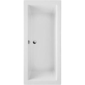 Körperformwanne Cubic Weiß 190 cm x 90 cm