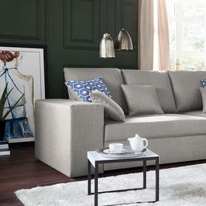 Nova Via Big Sofa, beige, B/H/T: 304x41x75cm, hoher Sitzkomfort