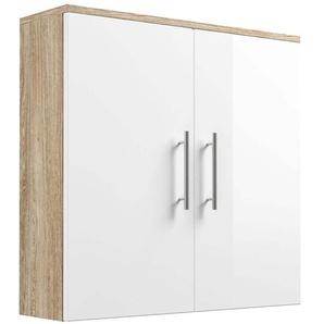 Posseik Hängeschrank 70 cm Salona Sonoma-Weiß