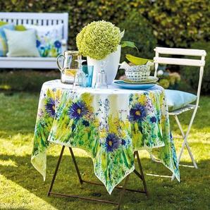 Tischdecke Blumenwiese Aquarell