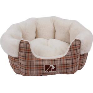 Heim Hunde-und Katzenbett Classic mit herausnehmbarem Kissen 72 x 62 cm x 22 cm
