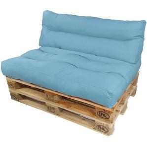 Diluma Palettenkissen Lounge Summer 2 teilig in Bleu