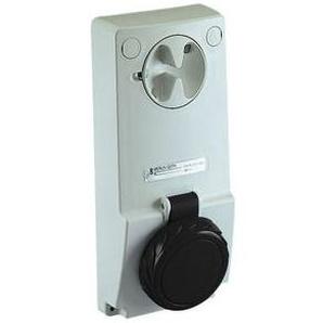 SCHNEIDER ELECTRIC Anbausteckdose verriegelt, 32A, 3p+E, 480-500 V AC, IP65