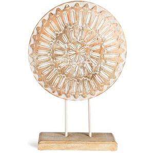 Dekoobjekt Ornament, Fsc® 100%, H:38cm, natur