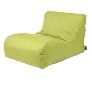 Sitzsack Liege in Grün Outdoor