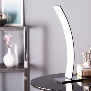 LED-Tischleuchte Stavros Silber 15 Watt warmweiss Aluminium, Tischleuchten