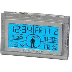 Technoline Wetterstation WS 9520, Silber, 2-teilig bestehend aus Station und Sensor