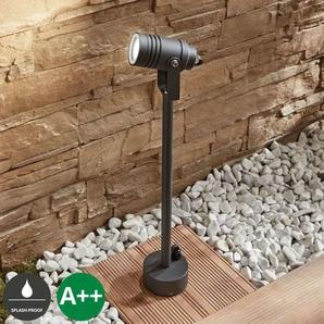 Außenstrahler Galina, dunkelgrau, 55,5 cm - LAMPENWELT