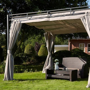 KONIFERA Pavillon mit Seitenteilen »Milos«, 300x300 cm