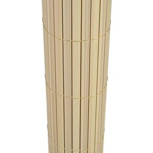 Sichtschutz Windschutz PVC NATURAL-BAMBOO Größe 0,8m x 5m - TOP MULTISHOP