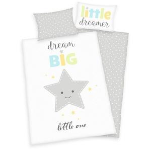 Babybettwäsche »Dream Big Star«, Herding, mit Punkten