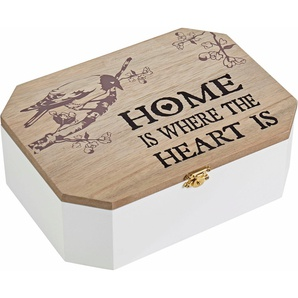 Home affaire Aufbewahrungsbox »Home is where the Heart is«