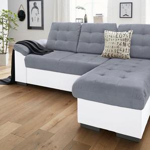 COTTA Ecksofa, XL oder XXL, wahlweise mit Bettfunktion und Bettkasten