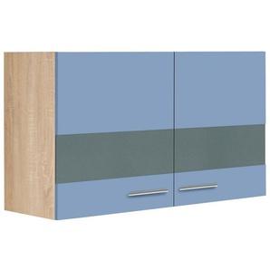 OPTIFIT Glashängeschrank »Kalmar«, Breite 100 cm, blau