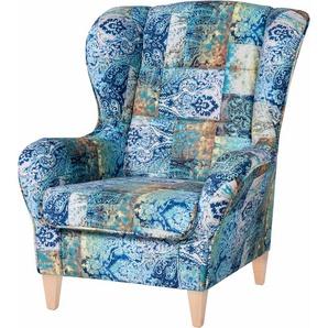 Inosign Sessel, blau, FSC®-zertifiziert