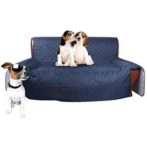 Dexinx Wasserdichte Sofa Protector Schutzhülle Hund Katze Pet Wasserdichte Möbel Schutzhülle Blau 167 * 190cm