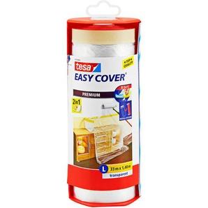 tesa Tesa Easy Cover Abdeckfolie im Abroller 3300 x 140 cm