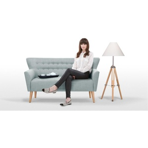 Quentin 2-Sitzer Sofa, Eisblau