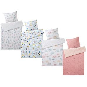 MERADISO® Kinder Bettwäsche, 135 x 200 cm, mit Reißverschluss, aus Bio-Baumwolle