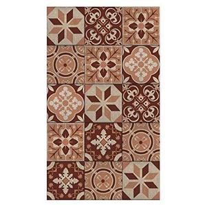 PLAGE escaleras-azulejos Alten calisese, Vinyl, braun, 19x 3x 100cm, 3Stück