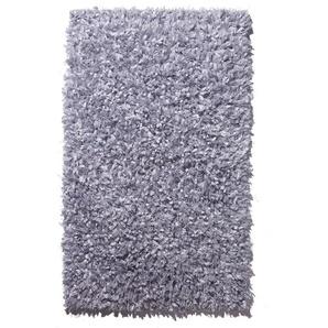 Batex Star Badteppich silber, 60 x 60 cm als Vorleger für Wand-WC, 420814