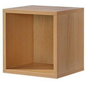Regal Buche, Regalwürfel, Cube Buche, Click System: Keine Schrauben und Dübel