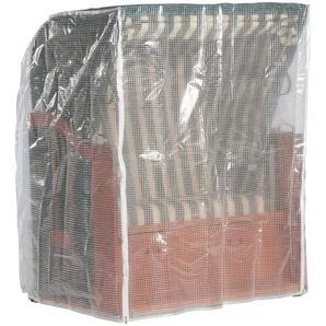 Schutzhülle, für Strandkörbe, B/T/H: 150/110/156cm, transparent