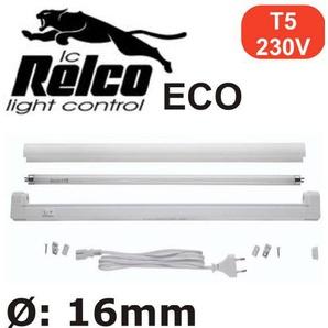 Leuci Athena Eco Lichtleiste T5, 35 Watt, EVG, inkl. Leuchtstoffröhre, neutralweiss 4000°K